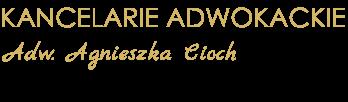 logo kancelaria adwokacka Agnieszka Cioch ADW.